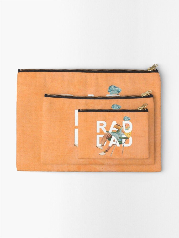 Alternate view of Rad Dad Zipper Pouch
