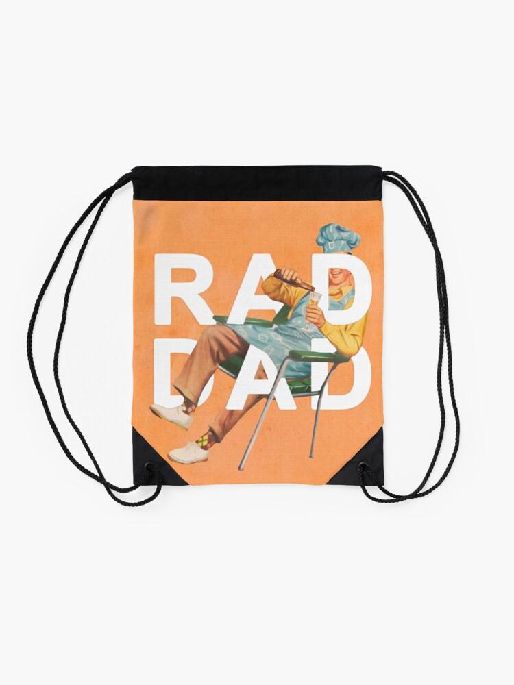 Alternate view of Rad Dad Drawstring Bag
