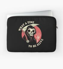 What A Time To Be Alive Laptop Sleeve