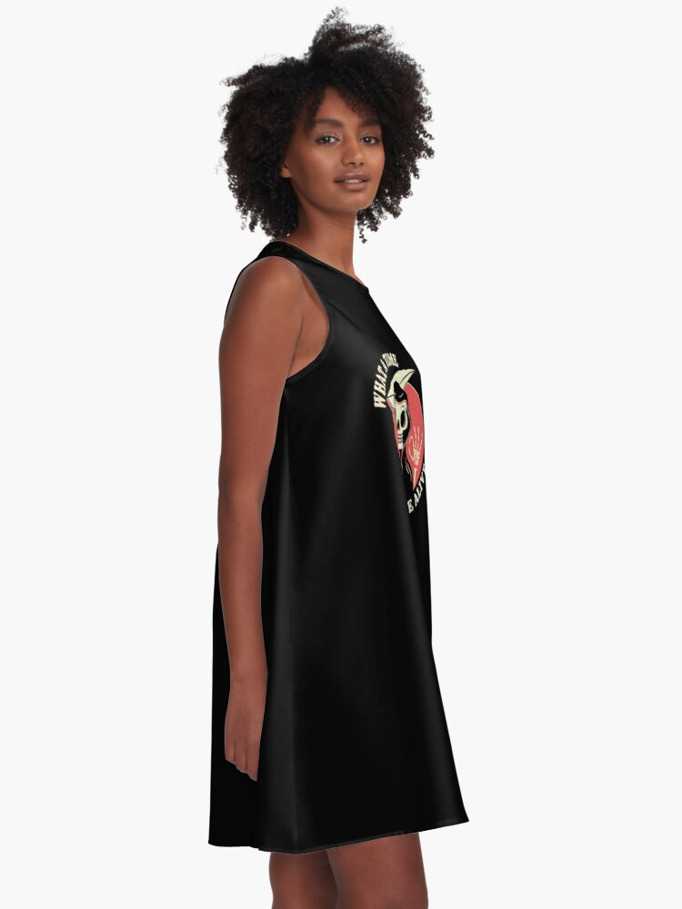 Alternate view of What A Time To Be Alive A-Line Dress
