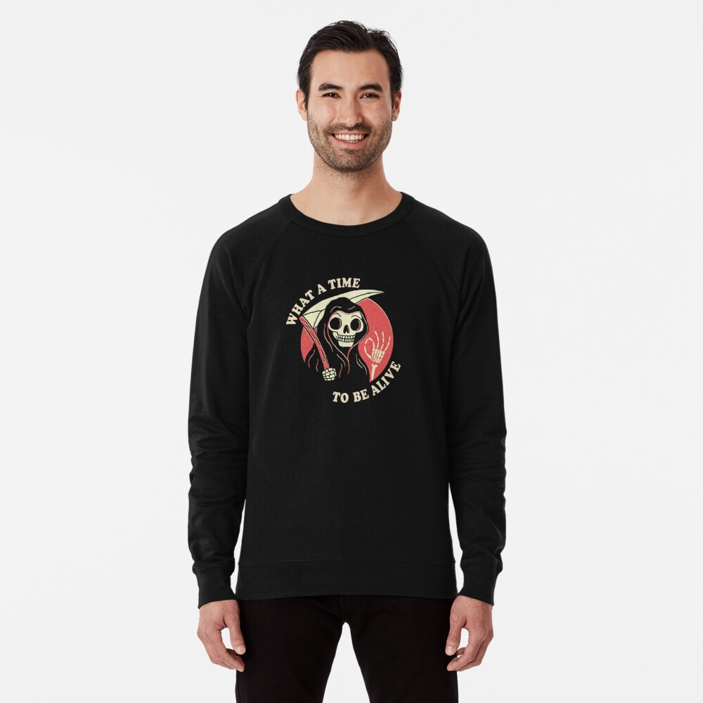 Sweatshirt léger «Quel temps pour vivre»