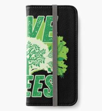 Saver The Trees Jungle Environment Gift iPhone Wallet/Case/Skin