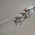 USAF Thunderbirds by andy lewis