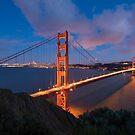 Golden Bridge - San Francisco by Mattia  Bicchi Photography