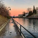 Charlevoix  - An evening walk on the river by Megan Noble
