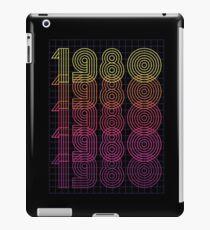 1980s iPad Case/Skin