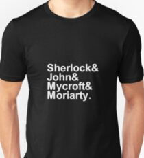 Alternative Beatles Sherlock Style. T-Shirt