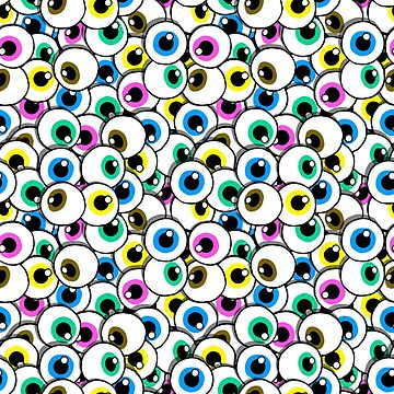 pile of eyes  by B0red