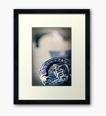 Behind the Badge Framed Print