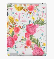 Vinilo o funda para iPad Vintage acuarela rosa