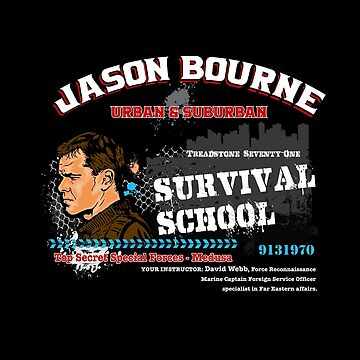 Jason Bourne Urban & Suburban Survival School by alhern67