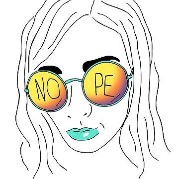 nope - minimal portrait by FandomizedRose