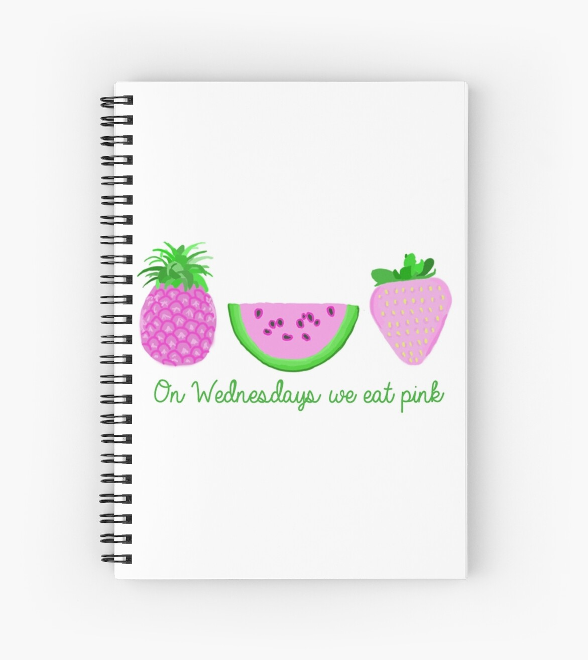 On Wednesdays we eat pink by Stacey Foster