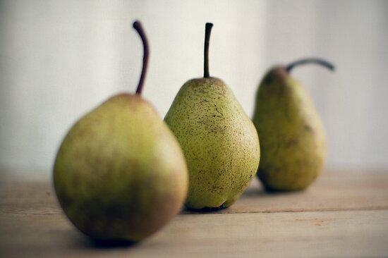 pears by Kim Jackman