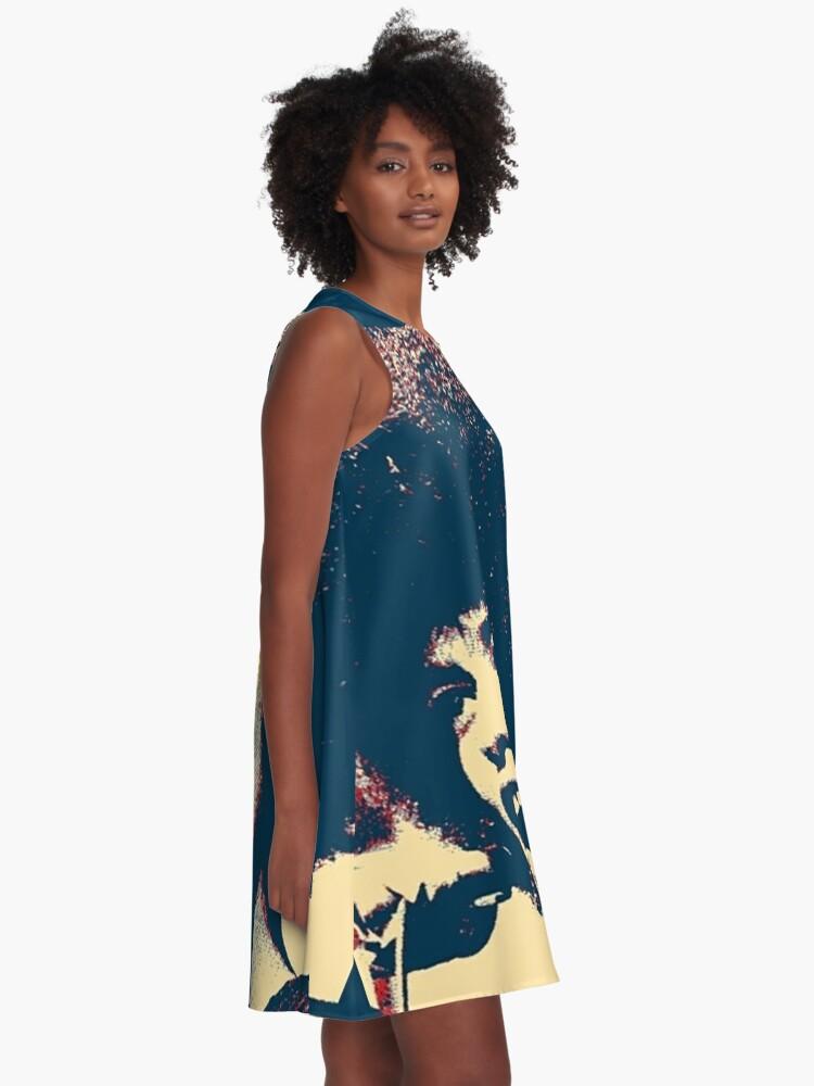 Alternative Ansicht von Angela -RESIST A-Linien Kleid