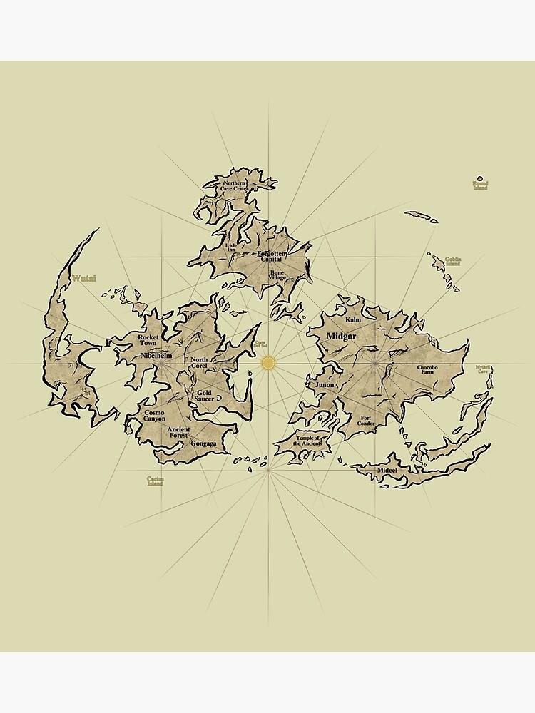 FF7 Vintage Map V01 \