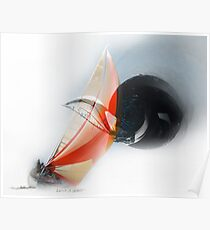 The Vortex of Sailing Poster