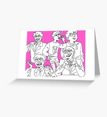 beautiful and talented man Greeting Card