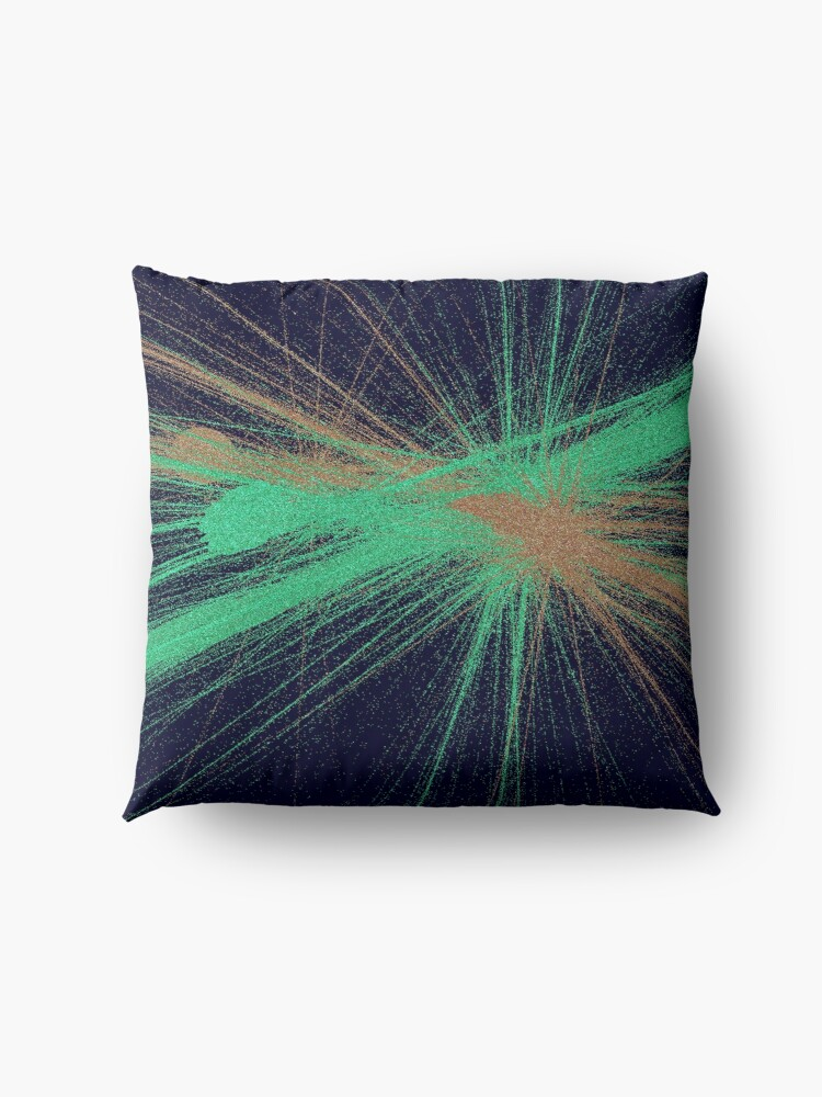 Alternate view of Explosion of colors Floor Pillow