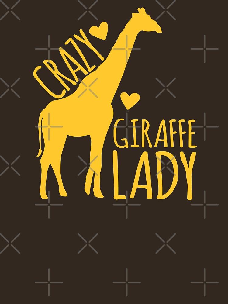 VERRÜCKTE Giraffe-Dame von jazzydevil