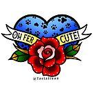 Oh Fer Cute! by jordannelefae