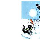 Snow in Salem by KOKeefeArt