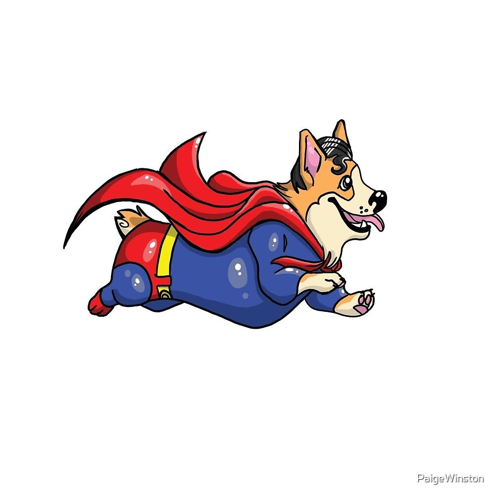 Super Corgi by PaigeWinston