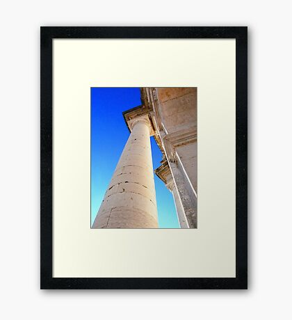 Panteão Nacional. aiming the sky Framed Print