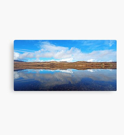 Loch Hope Reflections Canvas Print