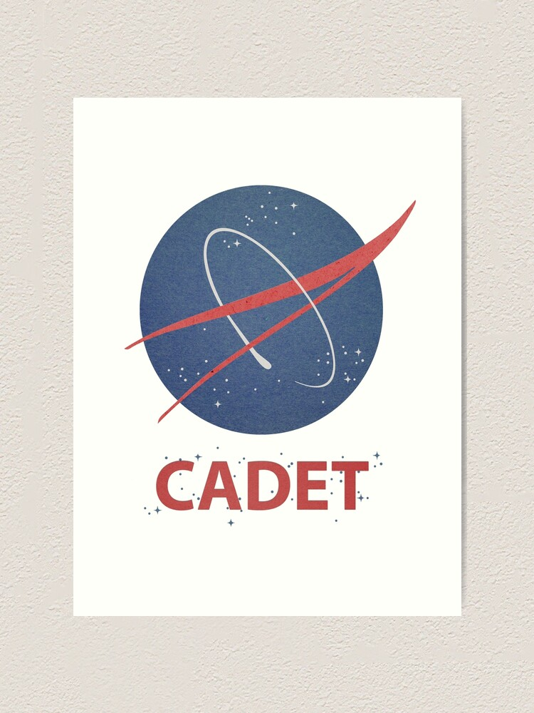 Alternate view of Cadet Art Print