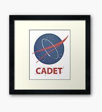 Cadet Framed Print