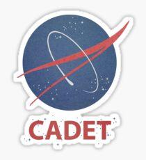 Cadet Sticker