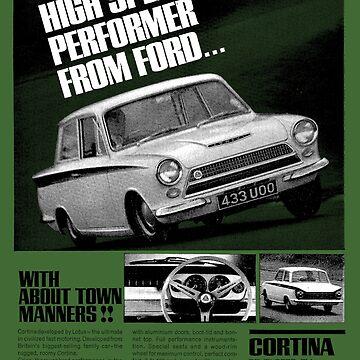 FORD CORTINA LOTUS by ThrowbackMotors