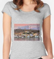 Nimborio at Dusk Women's Fitted Scoop T-Shirt