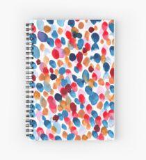 Cuaderno de espiral Acuarela abstracta diseño floral