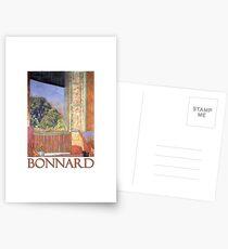 Das offene Fenster von Pierre Bonnard Postkarten