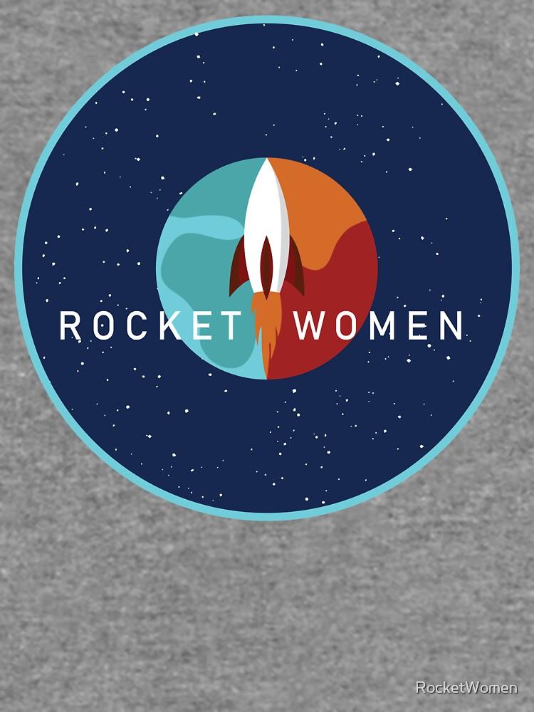 Rocket Women - Space Logo by RocketWomen