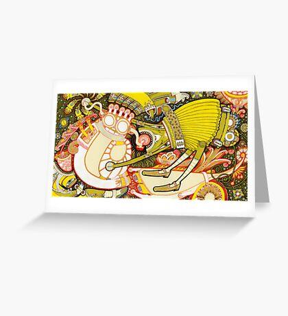 Strawberry Jam Greeting Card
