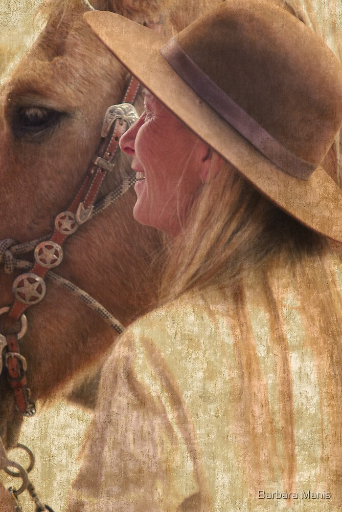 Cowgirl by Barbara Manis