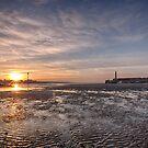 Margate Harbour At Low Tide by Dave Godden