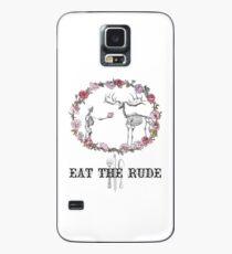Eat The Rude Hülle & Klebefolie für Samsung Galaxy
