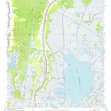 USGS TOPO Map Louisiana LA Dulac 331880 1964 24000 by wetdryvac