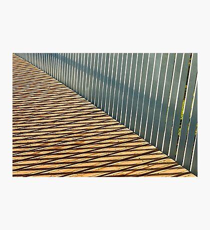 Metal and Wood Photographic Print