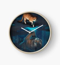 Reflet Horloge