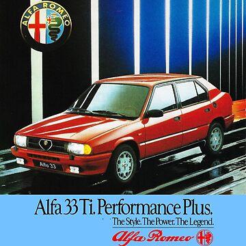 ALFA ROMEO ALFA 33 by ThrowbackMotors