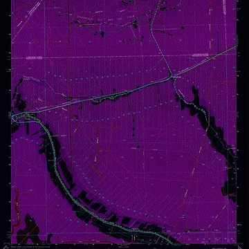 USGS TOPO Map Louisiana LA Gibson 332074 1964 24000 Inverted by wetdryvac