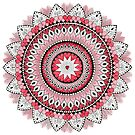 From The Heart Mandala by REBECCA LEAH DESIGNS