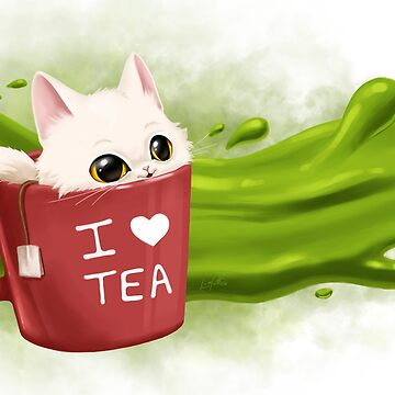 « Tea cat » par leamatte