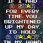 «Galaxy - Geek Love» de randomgeekydad