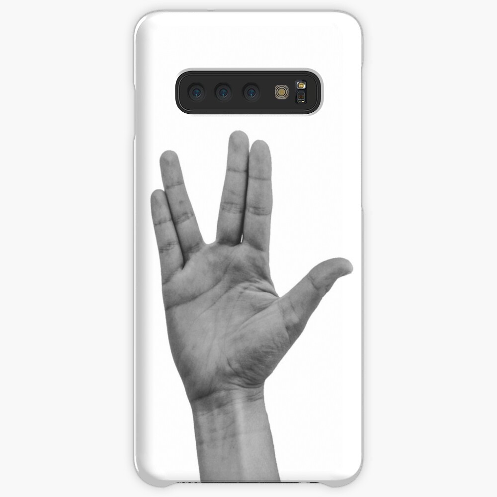 live long and prosper Case & Skin for Samsung Galaxy